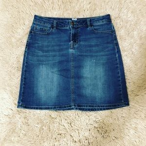 WestPort Denim Skirt